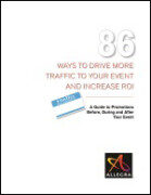 86 Ways to Drive More Traffic To Your Event And Increase ROI