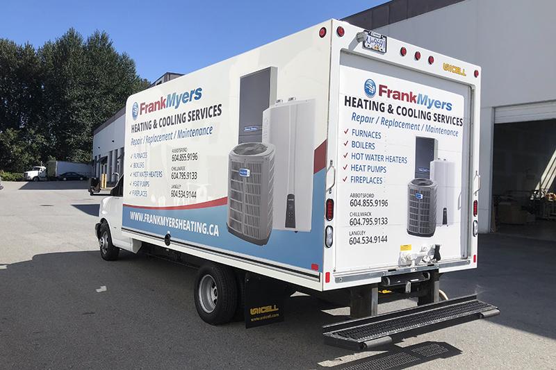 Fraser Valley Vehicle Decals
