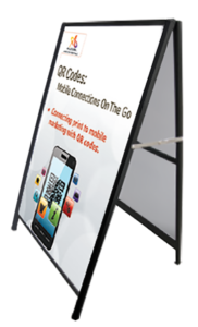 Fraser Valley Sandwich Board A Frame Sign Customized Design