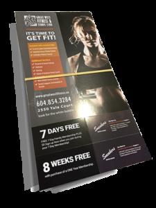 Abbotsford promotional brochure flyer print
